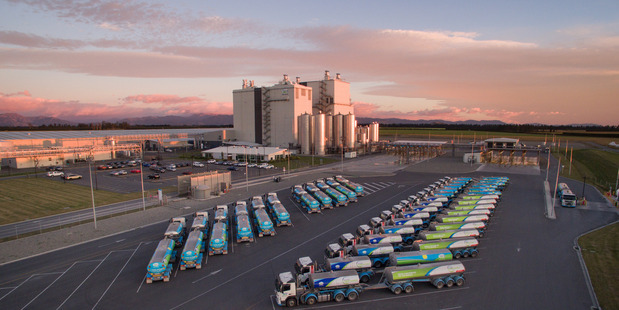 Fonterra plans to build two new cream plants at Darfield, Canterbury.